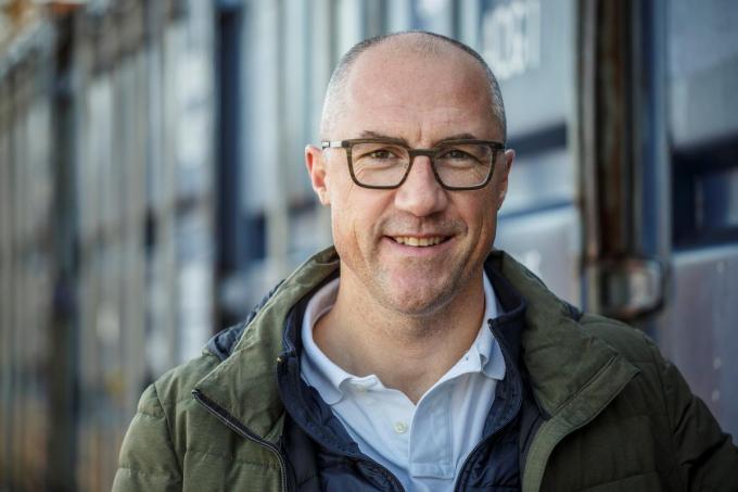 Schepen Jurgen Deceuninck ondervindt nog steeds de gevolgen van zijn coronabesmetting.© JS