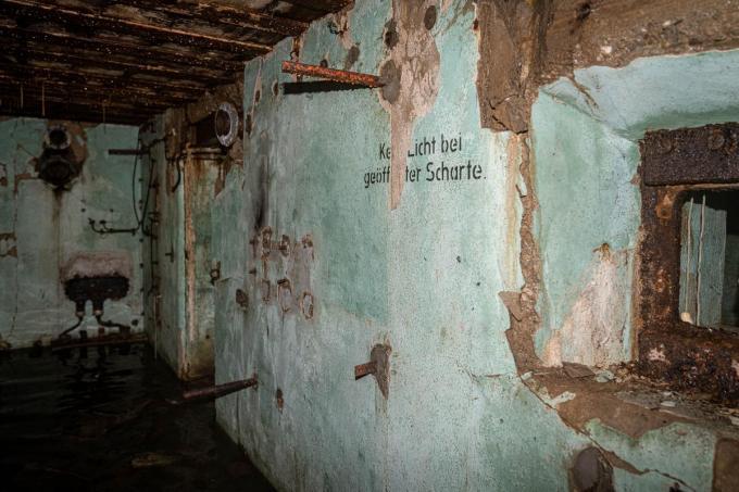 Verschillende aantekeningen op de muren zijn bewaard gebleven.© LC
