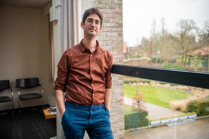 """Directeur Bas Kindt van wzc De Plataan: """"De vaccinatiebereidheid bij ons is zeer groot."""" (foto Frank)©Frank Meurisse Frank Meurisse"""