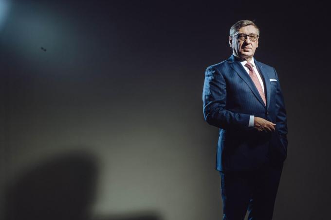Dirk Coorevits, de ceo van Soudal die met het bedrijf meegroeide. (foto Thomas Sweertvaegher)