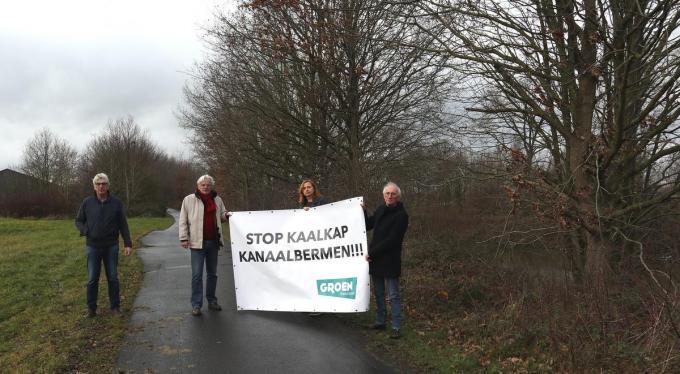 Onder meer de Beernemse meerderheidspartij Groen klaagt de boskap aan.© AVH