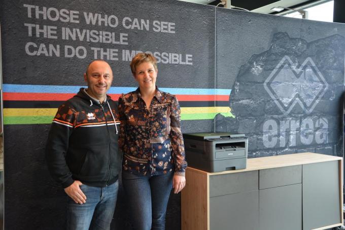 Youri Bultynck en Lieselot Meeuws. (foto SM)