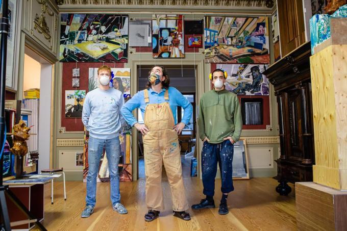 Roel Vandermeeren, Jan De Cock en Hawick Henneman. (foto DC)©Davy Coghe Davy Coghe