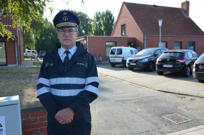 """Korpschef Johan Geeraert: """"Niemand kijkt uit naar de komst van zo'n club.""""© TOGH"""