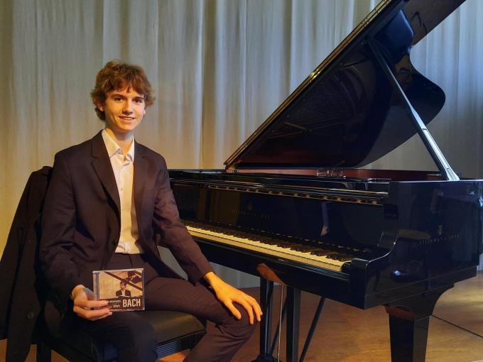 """Yarno Missiaen: """"Een echte voorkeur voor componisten heb ik niet.""""©MYRIAM VAN DEN PUTTE MVO"""