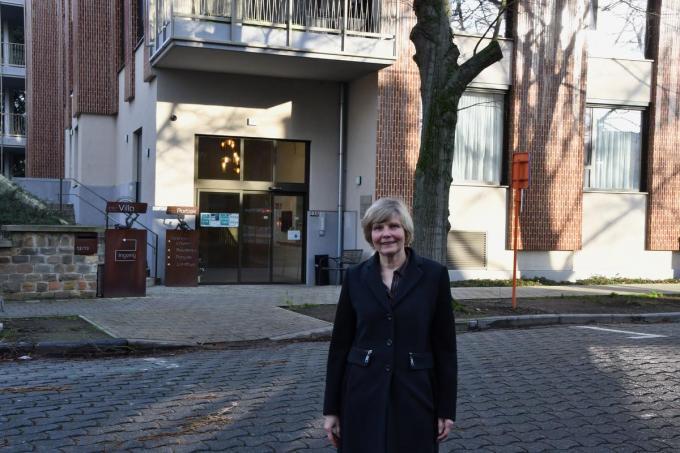 Nu Michele Desmet met pensioen gaat wil ze zich als vrijwilliger verdienstelijk maken. (foto EDB)©ELS DELEU
