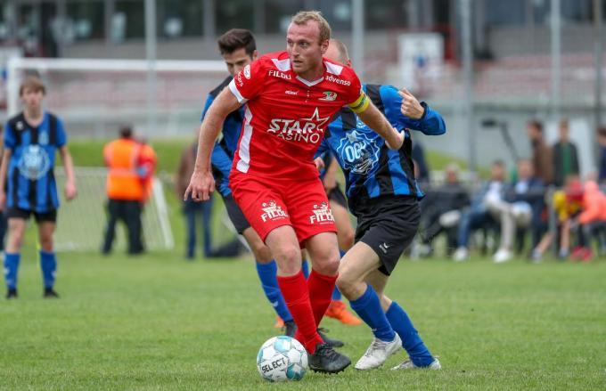 Kevin Vandendriessche is einde contract bij KV Oostende.©VIRGINIE LEFOUR Belga