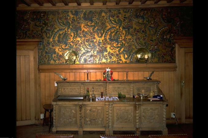 Het interieur van kasteel Blauwhuis komt in de laatste fase van de restauratie aan bod.© Oswald Pauwels