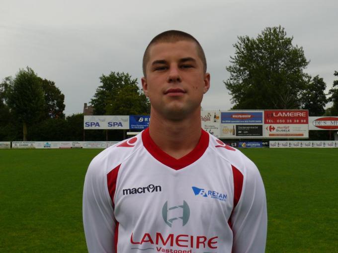 Cedric Simoens verlaat FC Damme volgend seizoen. (foto JPV)