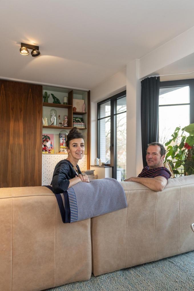 Ann en Koen houden van een eclectisch interieur.©Pieter Clicteur;Pieter Clicteur Pieter Clicteur