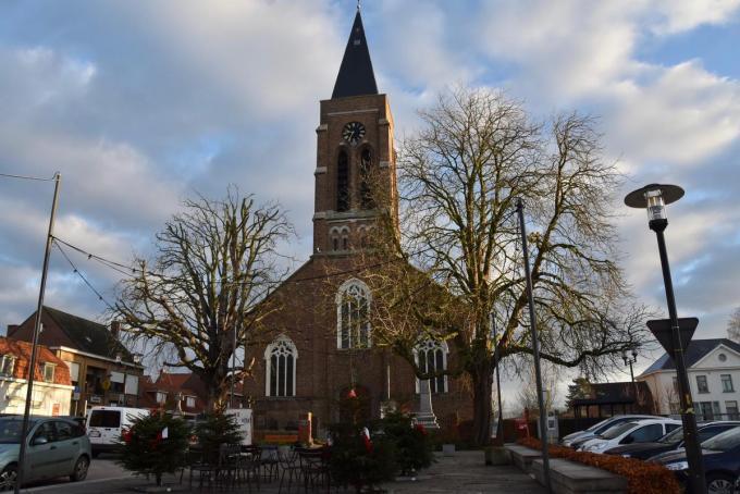 Het vredige Kooigem, waar de wortels van actrice Leen Dendievel liggen.©Els Deleu Els Deleu
