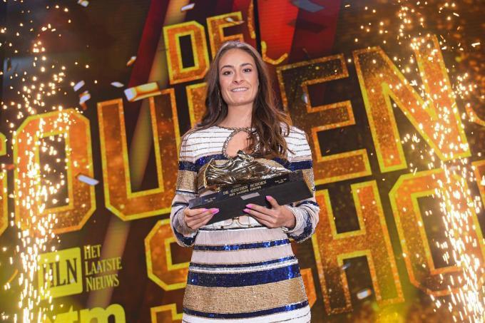 Tessa Wullaert kan haar vierde Gouden Schoen winnen.© Belga