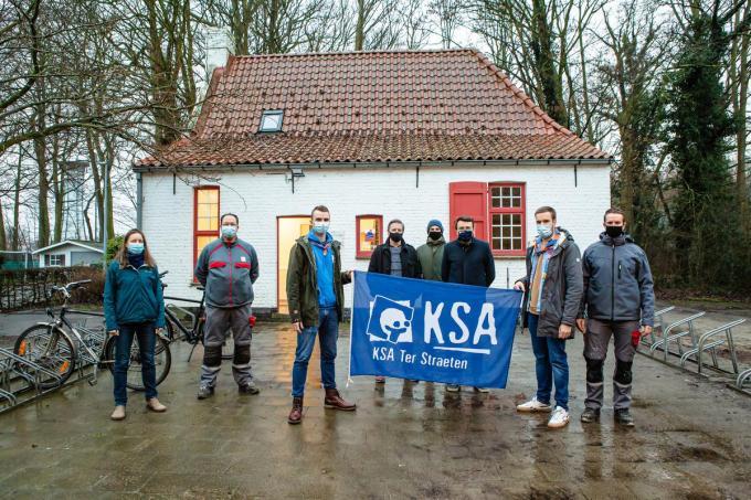 KSA Ter Straeten is heel tevreden met de renovatie van hun boerderij. (foto Davy Coghe)© Davy Coghe