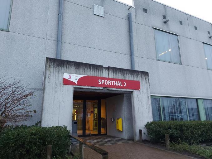 Sporthal 2 in de Leopold III-laan voldoet aan de gestelde voorwaarden.© GF