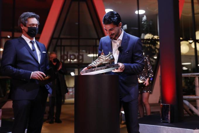 Lior Refaelov wint de Gouden Schoen.© Belga