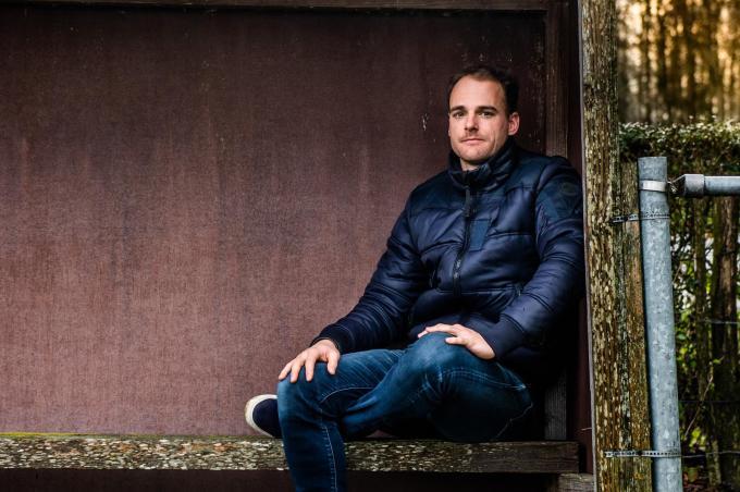 Brecht Capon, voetballer KV Oostende. (foto Kris Van Exel)©Kris Van exel Kris Van Exel