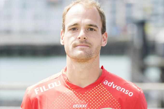 Oostende's Brecht Capon poses for the photographer, in marge of the 2020-2021 photoshoot of Belgian Jupiler Pro League club KV Oostende, Tuesday 28 July 2020 in Oostende. BELGA PHOTO JASPER JACOBS© BELGA