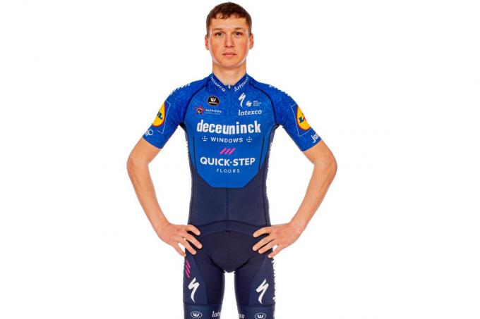 Mauri Vansevenant. (foto Deceuninck – Quick-Step Cycling Team / Wout Beel)