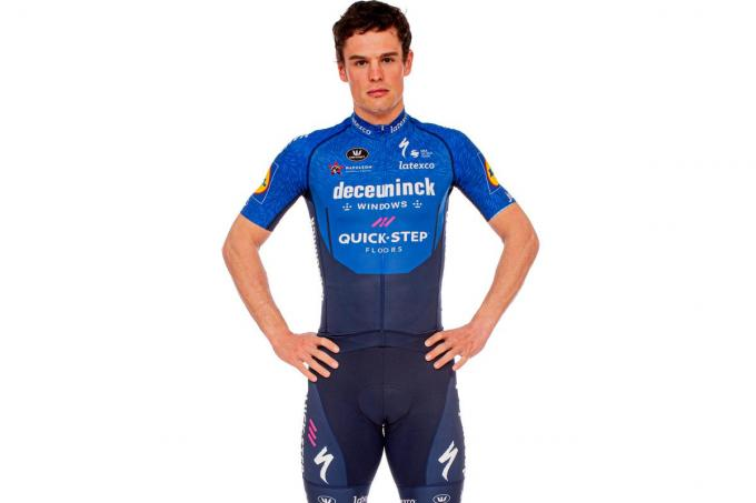Stijn Steels. (foto Deceuninck – Quick-Step Cycling Team / Wout Beel)