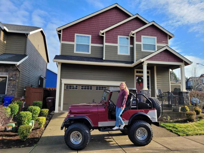"""Jessy Claerhout woont in de Amerikaanse staat Oregon: """"Je mag zes uur rijden en je bent de staat nog steeds niet uit.""""© GF"""