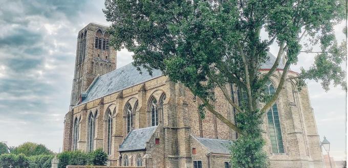 De Onze-Lieve-Vrouwekerk van Damme. (foto JG)