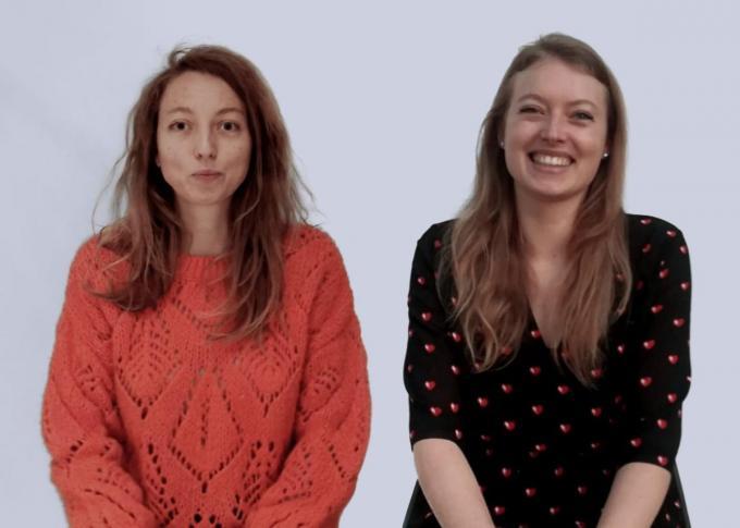 De Brugse zusjes Saartje (32) en Elisabeth (29) Van Houtte willen de wereld redden. (GF)
