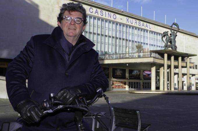 Het Kursaal zal ingericht worden als vaccinatiecentrum voor de Oostendenaars, meldt burgemeester Bart Tommelein.© Peter Maenhoudt
