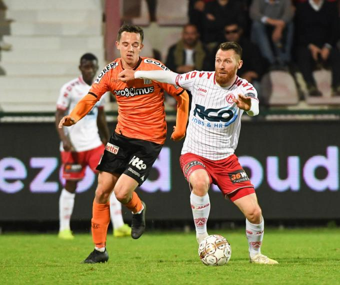 Teddy Chevalier keerde afgelopen week terug naar zijn oude liefde KV Kortrijk. (foto Belga)