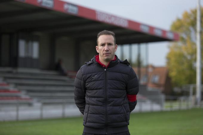 Erwin Loos, hoofdtrainer bij WSP B.©Jan STRAGIER foto a-Jan Stragier