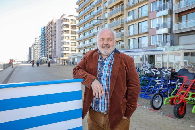 Burgemeester van Middelkerke Jean-Marie Dedecker.©Luc Cassiman Luc Cassiman