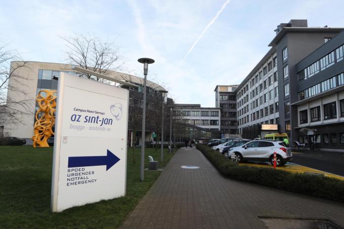 Het AZ Sint-Jan campus Henri Serruys.©Peter Maenhoudt PM