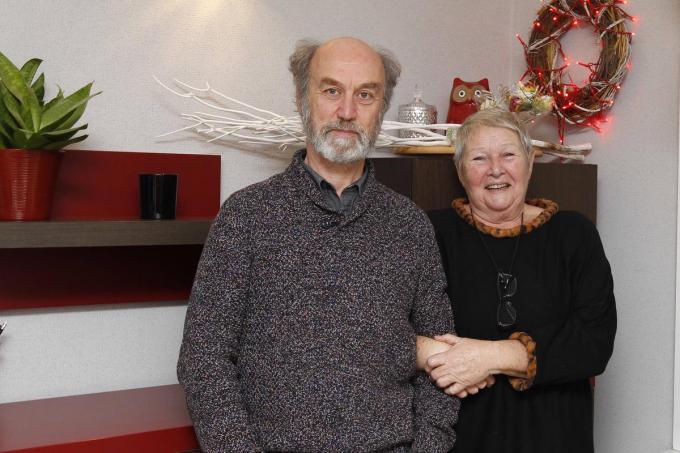 Alex Haerens en Jaklien Dumarey en zijn al lang lid van De Snuifdoos.© Foto Coghe