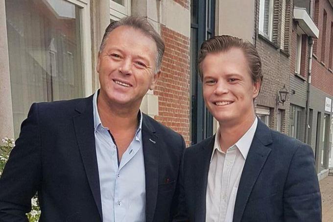 """Vader Marc en zoon Yoni Desplenter van restaurant Chantilly: """"Opbrengsten tot tien procent in Polen zijn geen fabeltje.""""©Johan Sabbe"""