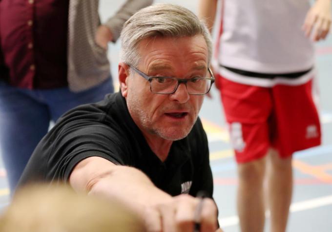 Jean-Marie Van Hulle neemt afscheid van Avanti One als coach, maar blijft wel actief als trainer van de jeugd.©Bart Vandenbroucke VDB