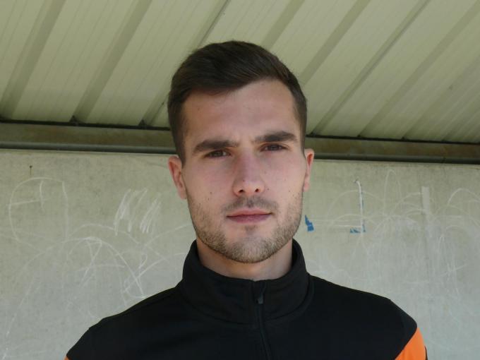 Nikola Janevski stopt met voetballen.© JPV