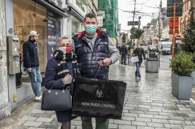 De shoppers opnieuw veilig naar Roeselare krijgen, dat is een van de betrachtingen van de hernieuwde samenwerking.©STEFAAN BEEL Stefaan Beel