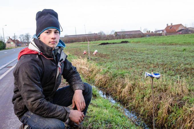 Kevin Van Loo wil met zijn broer Niels het zwerfvuilprobleem aankaarten. (foto Davy Coghe)©Davy Coghe Davy Coghe