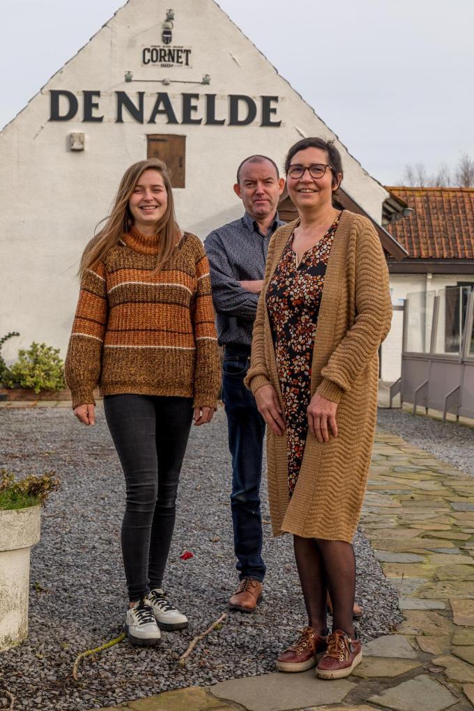 Silke Deprez, Eddy Deprez en Yannick Lefranc.©Wouter Meeus WME