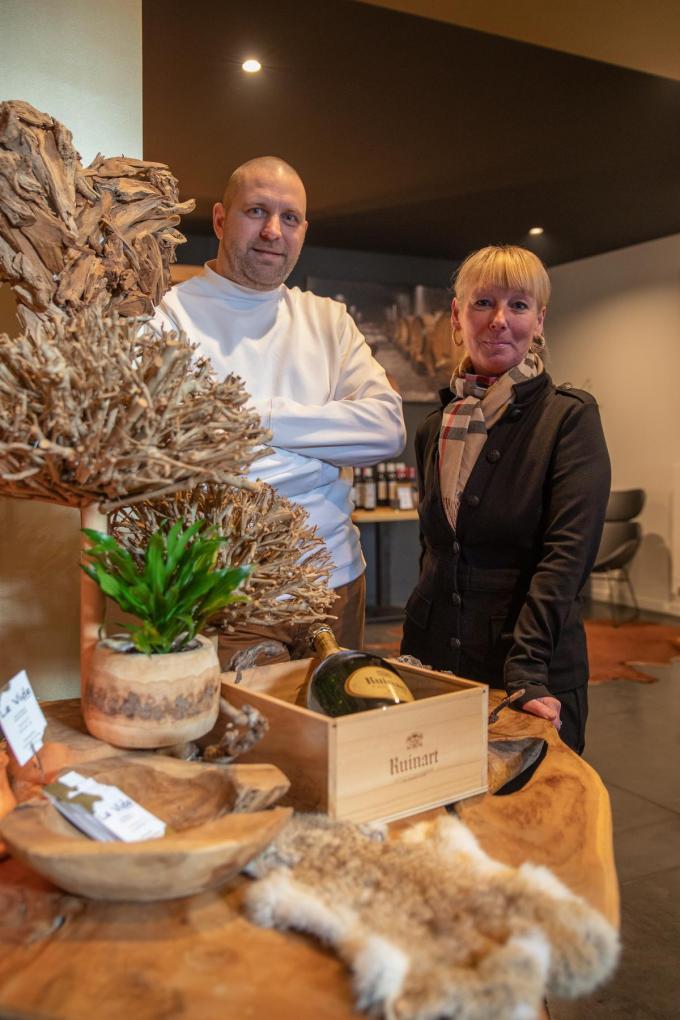 Dries De Ceuninck en Monique Van Helvert.©Wouter Meeus WME