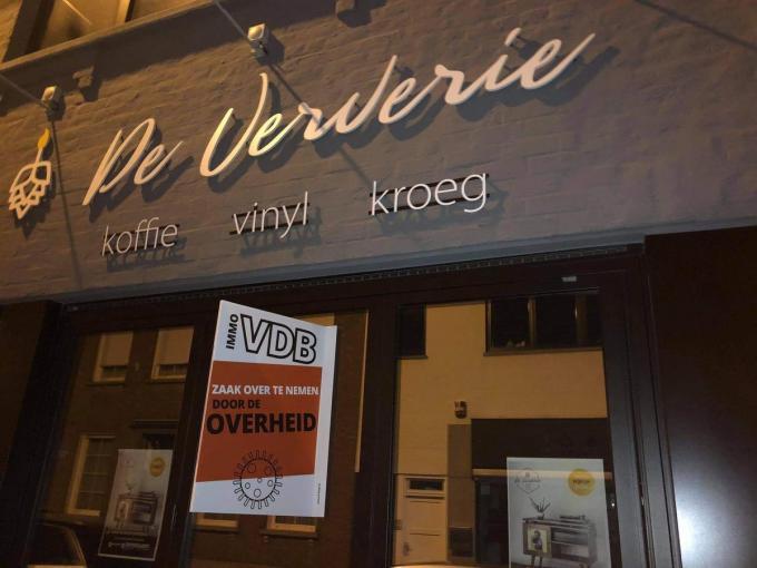 Ook De Ververie in Kuurne neemt deel aan de actie.© gf
