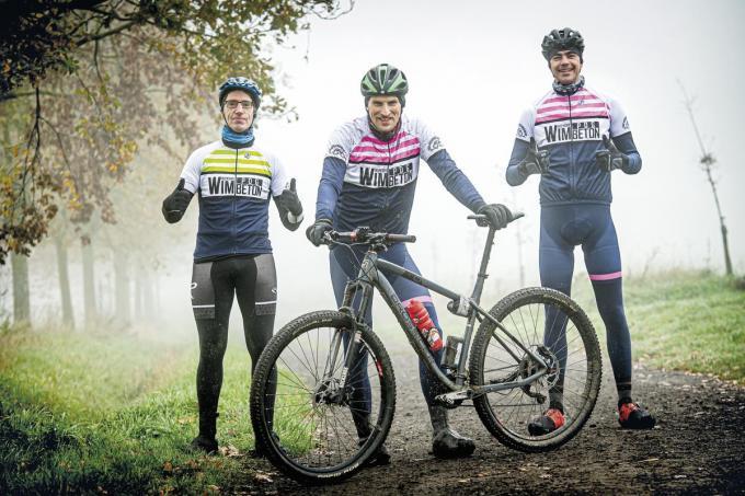 Laurens Terryn, Bene Pype en Stijn Verstraeten foto JCR©JOKE COUVREUR
