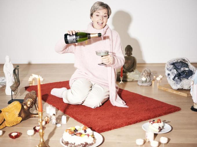 """Ingeborg Sergeant: """"Ik heb mijn man beloofd dit jaar normaal te doen.""""©Joris Casaer"""