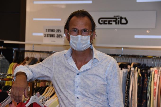"""Marc Geerits: """"De situatie is niet hopeloos.""""© DS"""