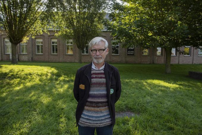 """Johan De Schacht: """"Ik hecht veel belang aan ecologisch bouwen."""" (foto MD)©MICHAEL DEPESTELE"""