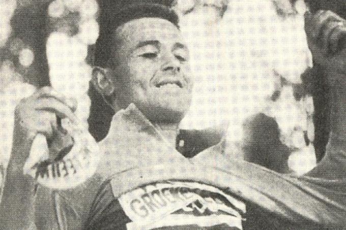 In de Tour van 1963 droeg Gilbert Desmet tien dagen de gele trui.© Patrick Demarest
