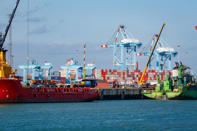 Zuid-Amerikaanse criminele bendes maken steeds vaker gebruik van de haven van Zeebrugge. (foto Belga)©KURT DESPLENTER BELGA