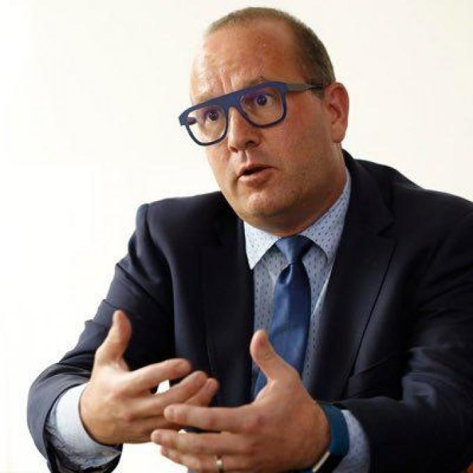 Expert Bob Van Den Berghe van het Container Control Programme van de Verenigde Naties.