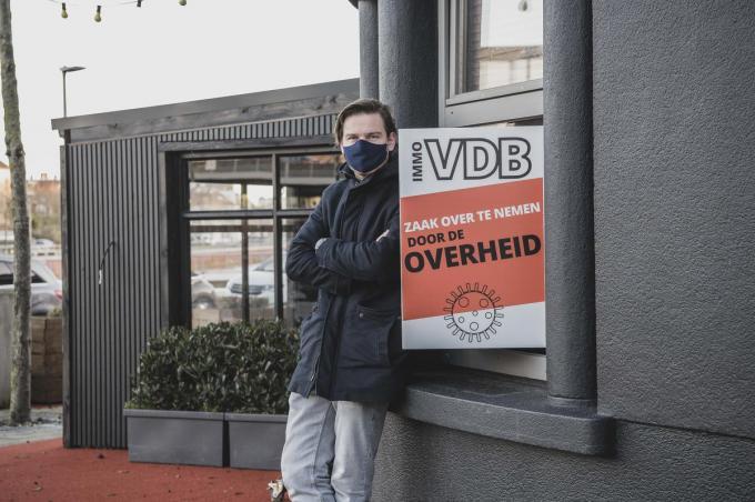 Mathieu Declercq, zaakvoerder van Balthazar, schaarde zich meteen mee achter de actie.© Olaf Verhaeghe