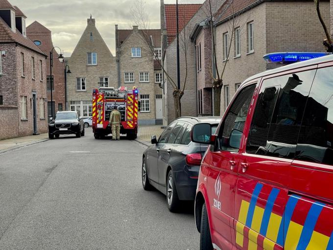 De brandweer voerde een grondige controle uit.© JVM