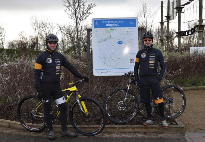 Peter Maet (links) en voorzitter Dieter Pollet.© MVO